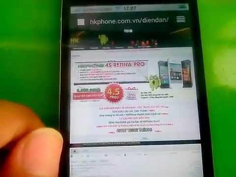 [Tren tay] HK-PHONE 4S Retina Pro