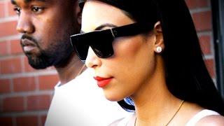 Kim & Kanye 'Miserable,' Leading Separate Lives After