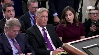 Sarah Sanders gets IRRITATED when reporter grills her on Trump's budget deal & Rob Porter