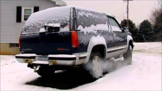 Tristan's 2004 GMC Yukon Denali Modified SLP Magnaflow K&N videos