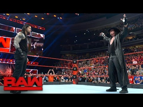 The Undertaker introduces Roman Reigns to his