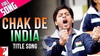 Chak De India   Full Title Song   Shah Rukh Khan   Sukhvinder Singh   Salim   Marianne D'Cruz