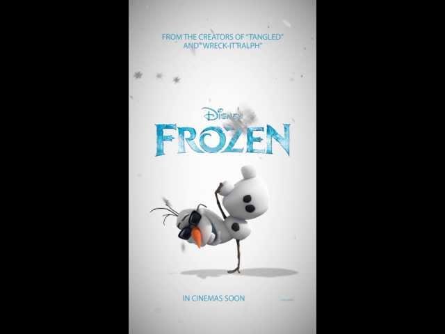 Замръзналото кралство - първи динамичен плакат на анимационната комедия :)