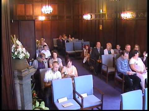 Wedding ceremony part 1 at the registry office in dudley uk youtube