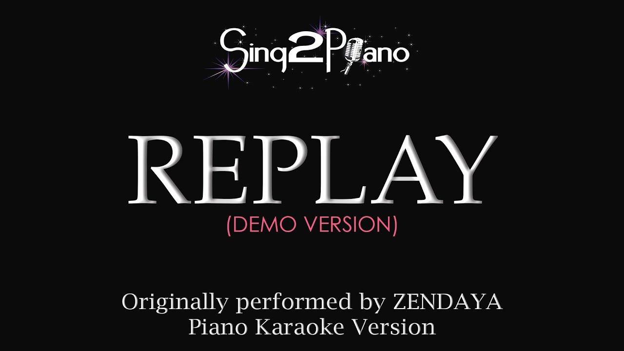 Zendaya replay chords image mag zendaya replay chords hexwebz Image collections