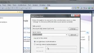 How to Connect Microsoft Visual studio 2010 with | to SQL server 2008 ? view on youtube.com tube online.
