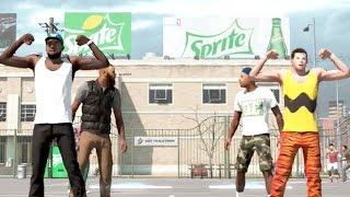 NBA 2k15 MyPARK 3vs3 Gameplay Alley Oop'n On Charlie