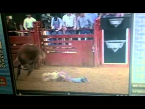 Don Gay - 76 NFR Bull Riding 95 pts - YouTube