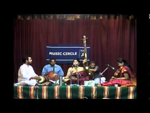 Parivadini Live- Samyuktha Ranganathan for Music Circle 11 Apr 2014
