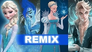 Frozen's Elsa : Concept Art To Genderbend To Frozen 2