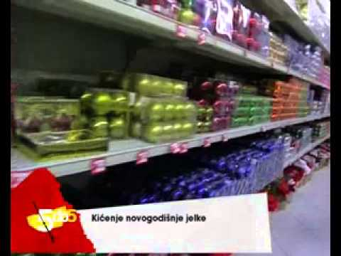 5 DO 5, ATLAS TV, KICENJE NOVOGODISNJE JELKE   12.12.2012.