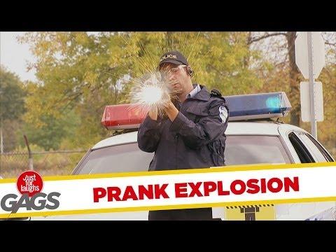 Rocket Launcher EXPLOSION Prank!