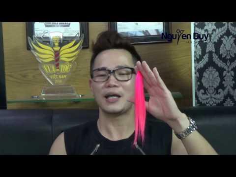 Vua Tóc Nguyễn Duy chia sẻ kỹ thuật nhuộm màu Hồng