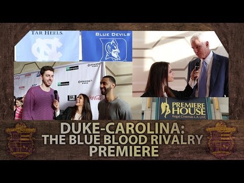 Lakers' Mitch Kupchak, Ryan Kelly, Kendall Marshall At Duke-Carolina Blue Blood Rivalry Premiere