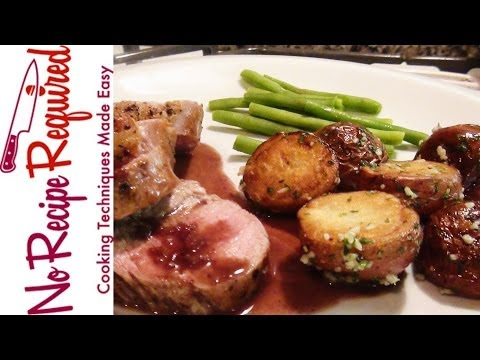 How to Cook a Pork Tenderloin - NoRecipeRequired.com