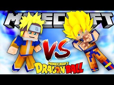 SONGOKU VS NARUTO!!! (Minecraft 7 Viên Ngọc Rồng Chế #5)