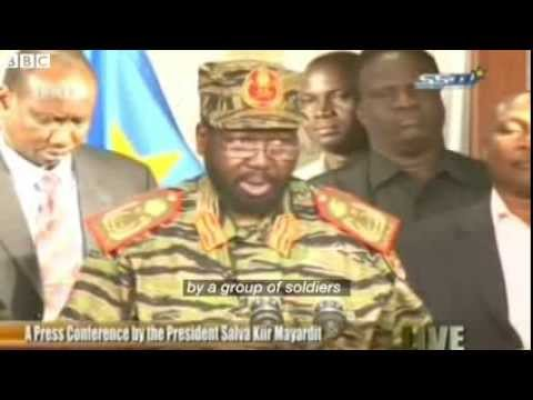 South Sudan's Kiir on failed coup attempt 2