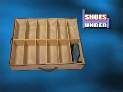 Shoes Under As Seen On TV Commercial