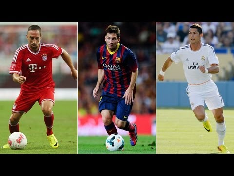 Best Player Award 2013 - Ribéry, Ronaldo, Messi