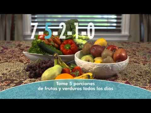 Small Steps to a Healthy Lifestyle: 7-5-2-1-0 (Spanish)