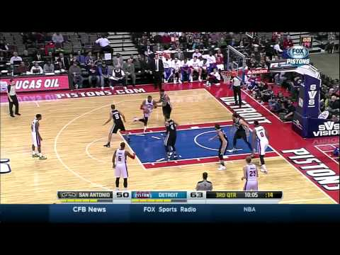 Pistons push the ball & show defensive focus in coach John Loyer's debut