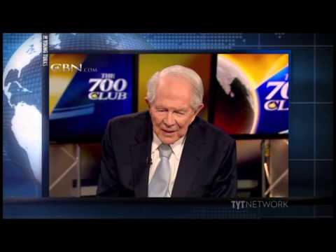 Pat Robertson Trolled by The Young Turks Viewer