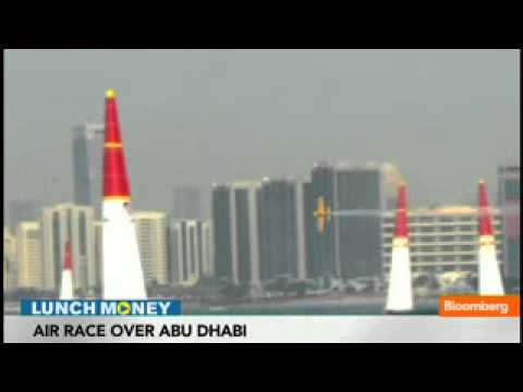 RedBull Air Race Soars Over Abu Dhabi