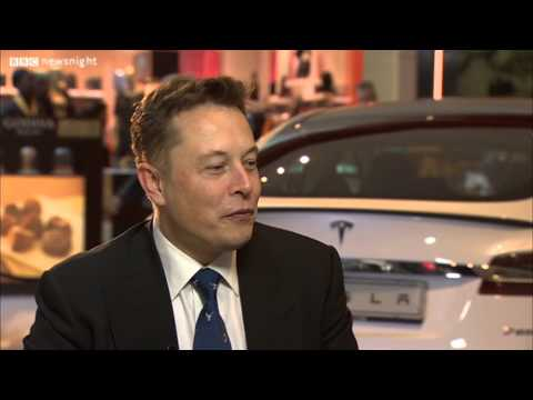 Newsnight - What electric car company Tesla's boss thinks about Jeremy Clarkson