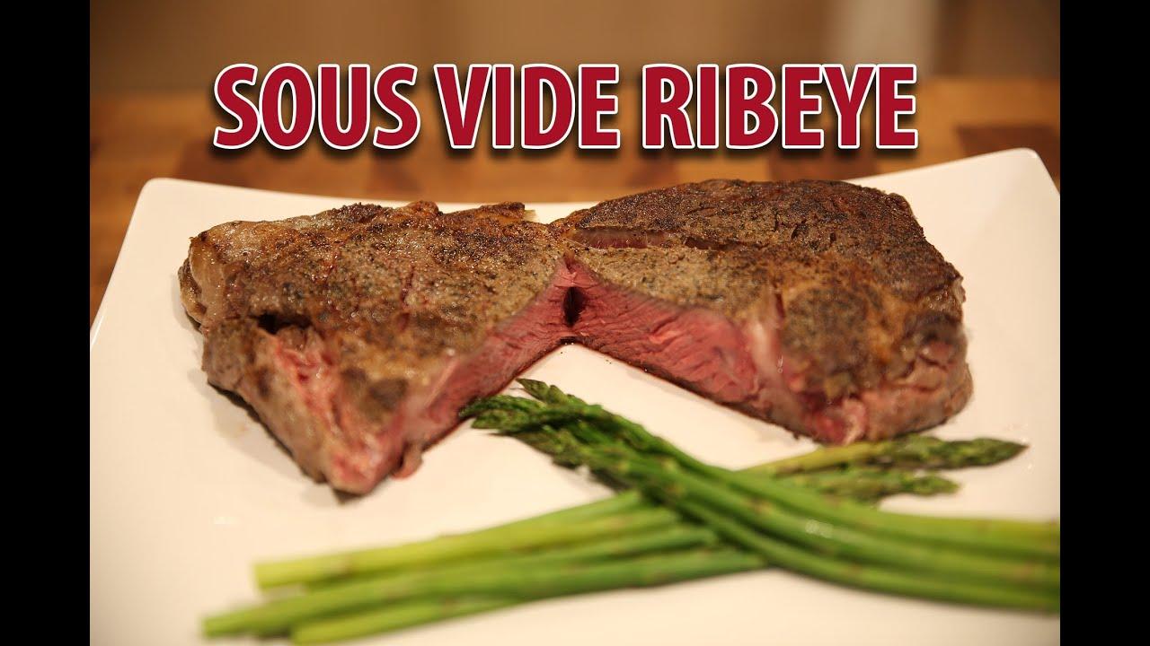 Best Sous Vide Ribeye - How to Sous Vide Steaks - YouTube