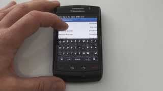 BlackBerry 8550 Storm - Enter Network MEP code 0 left