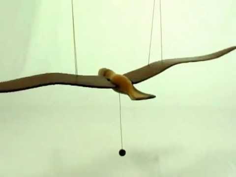 Wood Bird Mobile - YouTube