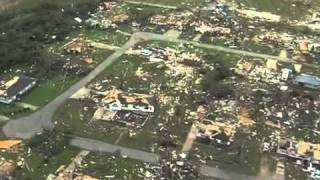 April 27 2011 Tuscaloosa Alabama Tornado Damage Aerial