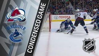 01/30/18 Condensed Game: Avalanche @ Canucks