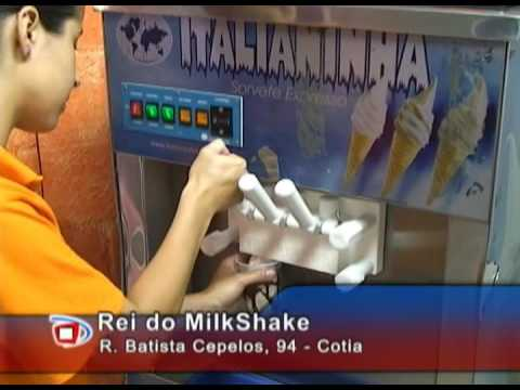 Rei do Milk Shake Cotia - ovomaltine - mais de 500 sabores
