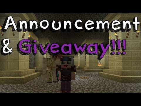 Announcement + Giveaway + MineCraft Ars Magica - Ep 1