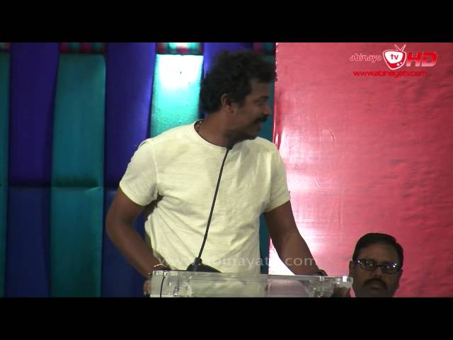 Director Samuthirakani @ Goli Soda Success Meet