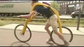 A nova bicicleta sem pedal e sem assento