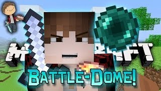 Minecraft: BATTLE-DOME w/Mitch & Friends Part 1 - Gathering Supplies!