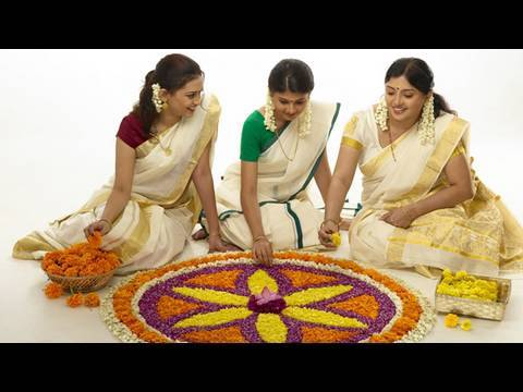 Onam greetings video Maveli rituals festivals travel tour Kerala India