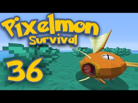 Pixelmon Survival [Part 36] - How to Cook Your Karp
