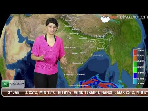 03/01/14 - Skymet Weather Report for India