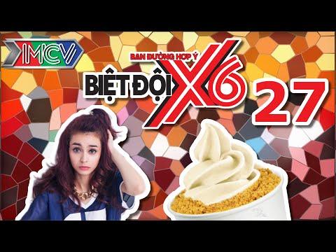 Biệt Đội X6 | Tập 27 | Mlee chui góc kẹt ăn kem để tránh sự truy sát của Sĩ Thanh - Kiều Minh Tuấn.
