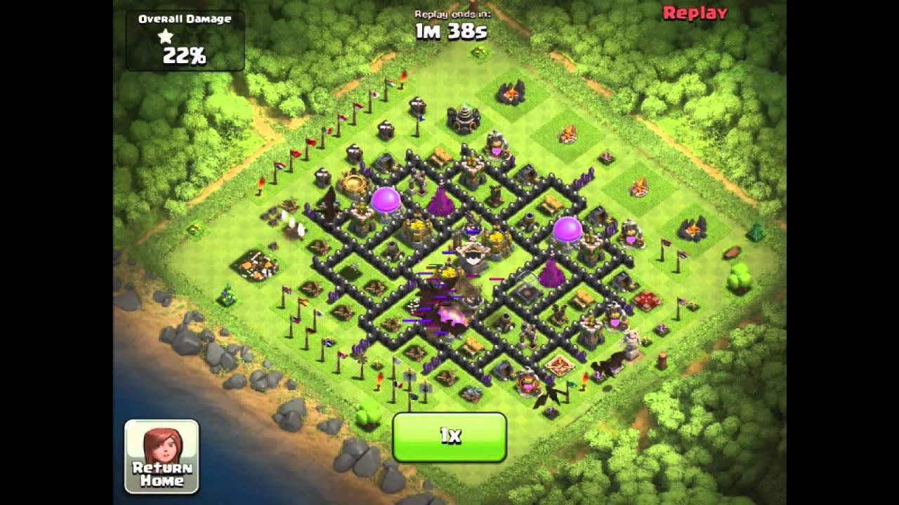 Clash of Clans Town Level 100