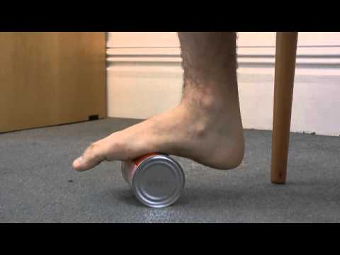 Achilles Tendonitis - exercises to do at home - YouTube