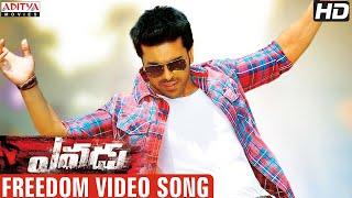 Yevadu Movie Freedom Full Video Song Ram Charan, Allu