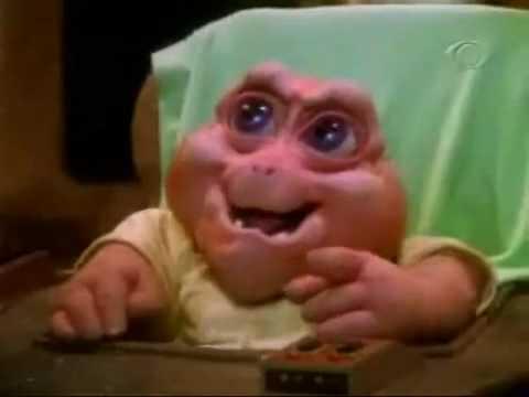 Baby diz não é a mamãe!! Familia Dinossauros