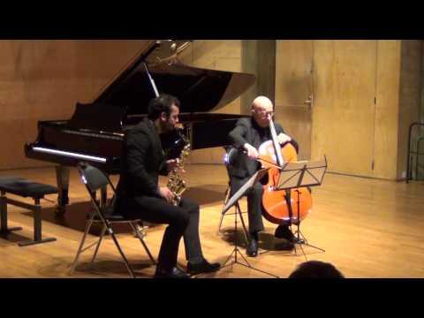 Roland Pidoux, Nicolas Arsenijevic, Duo Sonata – Sofia Gubaïdulina / Arrangement Giovanni Nardi