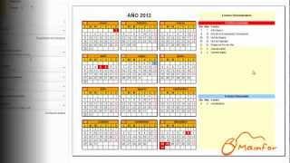 Tutorial Excel Creación De Calendarios