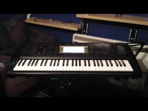 Yamaha PSR-730 Keyboard 15 Demonstration Songs
