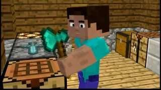 Minecraft Animation- Woodcutter´s Normal Day